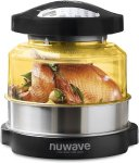 Nuwave Pro Plus Oven with Stainless Steel Extender Ring 20633
