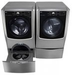 LG 6.2 cu. ft. washer and 9.0 cu.ft. Dryer